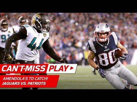 Video: Tom Brady & Co. Drive Downfield for 4th Quarter TD! | Jaguars vs. Patriots | AFC Championship HLs