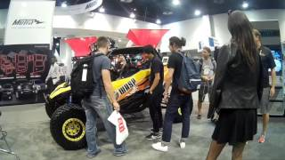 PRANKING AT THE SEMA SHOW!!