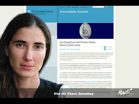 Martí Noticias - Niega Gobierno de Cuba permiso de salida del país a la bloguera Yoani Sánchez