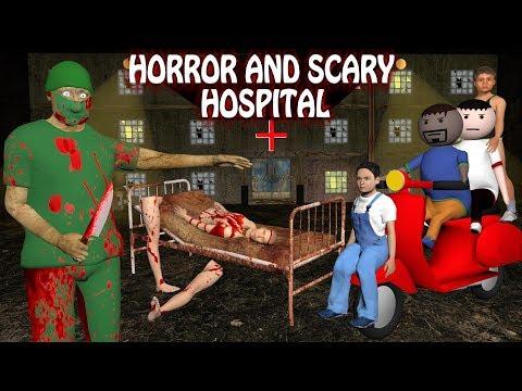 Horror And Scary Hospital  Part 1|| Horror Story (Animated Short Film) Make Joke Horror