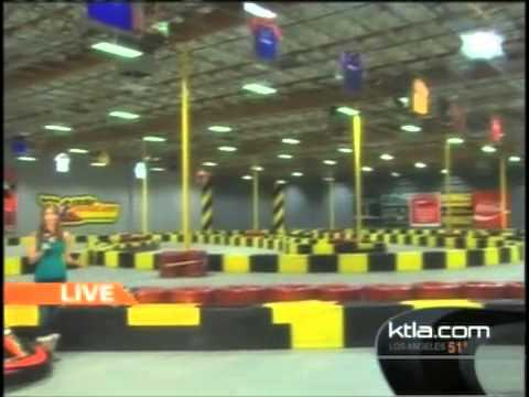 KTLA 5 at Pole Position Raceway Las Vegas track