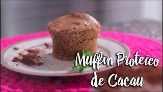 Experimente - Muffin Proteico de Cacau