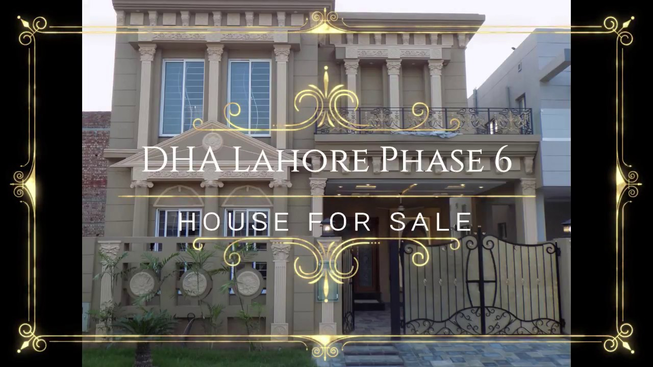 7 Marla Brand new Elegant Bungalow For Sale In DHA Phase 6 Lahore