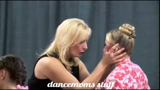 Dance Moms Chloe falls on her face and cry