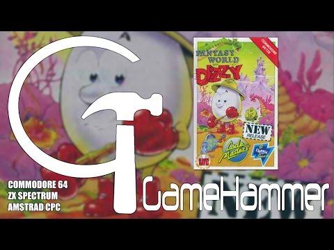 Fantasy World Dizzy - C64, Spectrum & CPC - GameHammer #20
