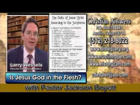 IS JESUS GOD ALMIGHTY IN THE FLESH MEANING THE SECOND PERSON OF THE TRINITY OR IS HE SOMETHING ELSE?
