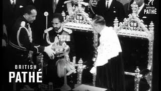 HaileSelassie At Guildhall (1954)
