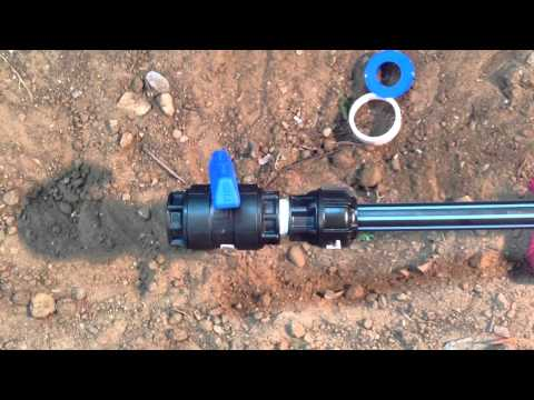How to install a Philmac PN16 Poly Ball Valve