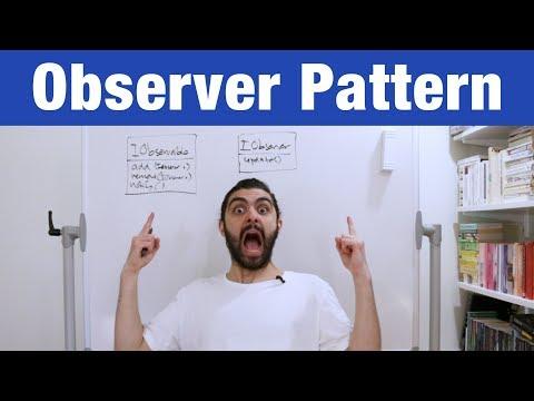 Observer Pattern – Design Patterns (ep 2)