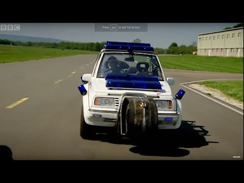 Top - Part 1 of 2: Jeremy, James and Richard are given a tight budget to build their own police cars. The boys creations are then put to the test in a speed lap around the Top Gear test track. Clip...