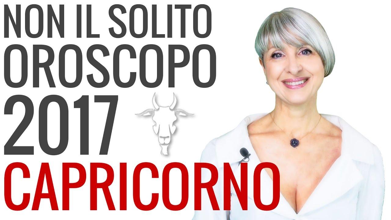 OROSCOPO 2017 ★ Capricorno
