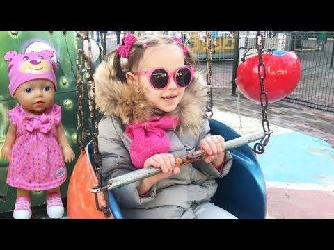 Новая кукла Беби Бон День рождения канала Юляшки Играем в куклы  Алина и Юля Как мы отметили (видео)