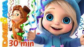 Video 🍭 Baby Songs | Nursery Rhymes for Babies | Dave and Ava 🍭 MP3, 3GP, MP4, WEBM, AVI, FLV Juni 2019