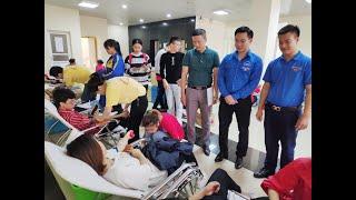 Hơn 500 tình nguyện viên tham gia hiến máu tình nguyện