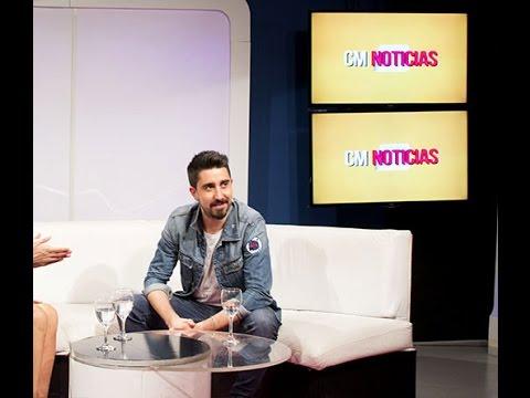 Alex Ubago video Entrevista Argentina - Marzo 2016