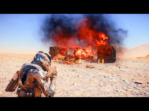MASS EFFECT Andromeda – Combat Gameplay Trailer