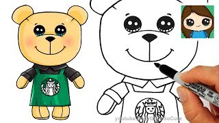 Follow along to learn how to draw this cute barista bear from Starbucks step by step easy. He's stuffed with love and ready to make you your favorite drinks. =) Art for kids, drawing tutorial lesson.Thanks for watching!! Please LIKE, COMMENT, and SHARE. =) Thank You!!!★Learn How to Draw the EASY, Step by Step Way while having fun and building skills and confidence. Learning videos for children of all ages.★Drawing Tutorials on everything from Celebrities (Ariana Grande, Taylor Swift, Meghan Trainor, Demi Lovato, etc), Cartoon Food and Drinks (Hot Dog, Starbucks, etc), Desserts (Ice Cream, Cupcake, Marshmallow, etc), Fruit, Cartoon Animals (Penguin, Fox, Panda, etc), Characters from 3D movies (Minions, Frozen, Finding Dory, Zootopia, etc) , Games (Minecraft, Angry Bird, etc), TV shows (Descendants, Disney, Cartoon Network characters, etc.) , Toys (Shopkins, NumNoms, etc) and Everyday Objects (school supplies, etc) can all be found here at Draw So Cute! ★You can learn how to color with markers, color pencils and much more. Coloring pages. ★FUN ART CHALLENGES, DIY's and Coloring Pages and Activities can also be found here!★Easy, simple follow along drawing lessons for kids or beginners. Fun, Cute art for kids! ★Celebrate Mother's Day, Father's Day, Christmas, Valentines, New Years, Birthdays, etc. with Cute drawings just for the occasion!Enjoy Art and have fun being creative and becoming an artist! ❤❤SUBSCRIBE: http://www.youtube.com/channel/UC3dEvA1is6-0_yuei9iCdEw?sub_confirmation=1-Website: Download FREE coloring pages and crafts: http://www.drawsocute.com -Facebook: http://www.facebook.com/drawsoocute-Instagram: https://instagram.com/drawsocutebywennie/Have a GREAT day and see YOU later! :)