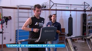 Maratonista de Assis que teve paralisia vence Guillan Barré e volta a correr