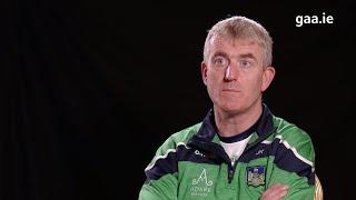 Limerick Senior Hurling Manager, John Kiely looks ahead to Cork match