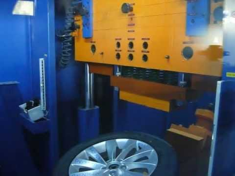 Испытание в лаборатории диска WSP Italy W456 Ginostra на косой удар обода (Volkswagen)
