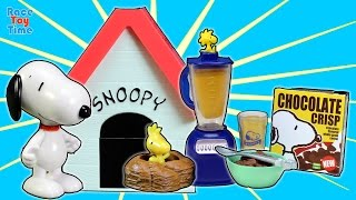 Snoopy's Dog House Re-ment Charlie Brown's School Days, Cake Shop Toy Collection