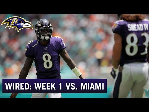 Wired Week 1: Lamar Jackson, Ravens Start Hot in Miami