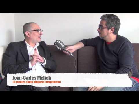 Joan-Carles Mèlich, entrevistado en Religión Digital