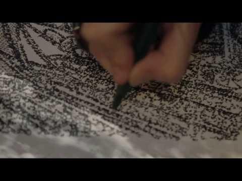 'Ô ! Ô! Lumière en prière' : Poème calligramme de Nicole Coppey