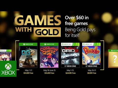 Games with Gold : les jeux de mai 2016