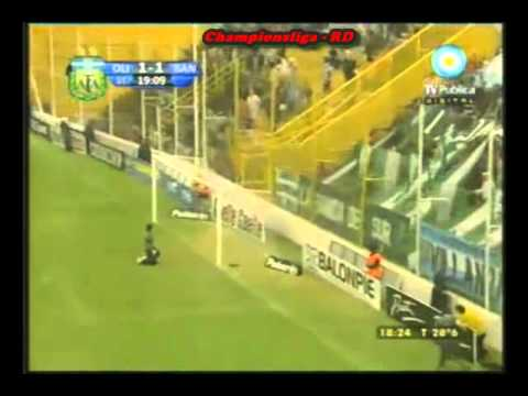Gol de Vega a Banfield (Clausura 2011)