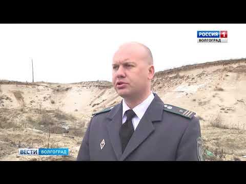 О факте незаконного снятия и перемещения плодородного слоя почвы в Волгоградской области