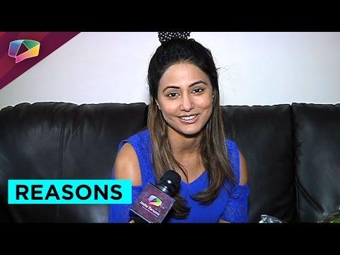 Hina Khan reveals the reason behind 'QUITTING' Yeh Rishta Kya Kehlata Hai (видео)