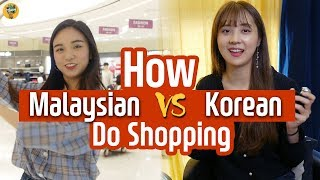 The difference between Malaysia and Korea! #Shopping  | with Lotte Duty Free