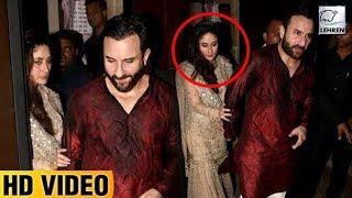 Video DRUNK Kareena Kapoor Can't Walk Without Saif At Anil Kapoor's Diwali Bash | LehrenTV MP3, 3GP, MP4, WEBM, AVI, FLV September 2018