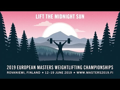 2019 European Masters Weightlifting Championships - Day 6