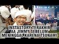Video Aa Jimmy Korban Meninggal Tsunami Banten Sempat Unggah Keseruan saat Dirinya Jadi MC