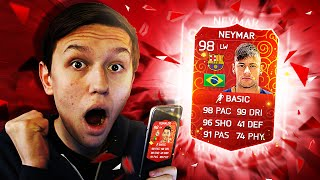 98 RED NEYMAR IN A PACK!! NEW RED CARDS! - (FIFA 16 iOS Pack Opening), neymar, neymar Barcelona,  Barcelona, chung ket cup c1, Barcelona juventus