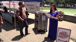 Gwendolyn Zepeda, Houston's Poet Laureate reads
