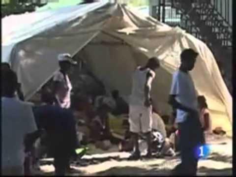 BROTE DE COLERA EN HAITÍ