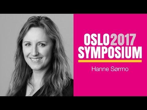Hanne Sørmos tale på Oslo Symposium 2017