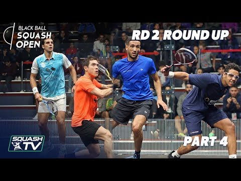 Squash: CIB Black Ball Squash Open 2018 - Rd 2 Roundup P4