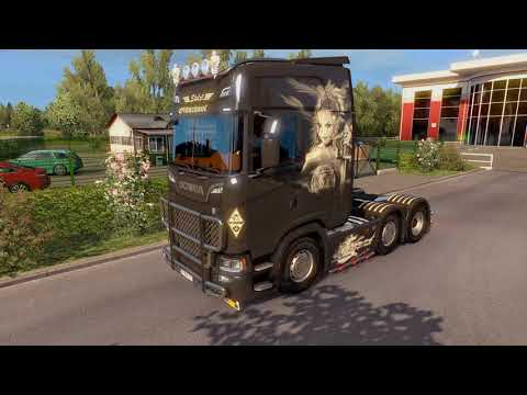 Front Intake Paint Scania 2016 v1.0