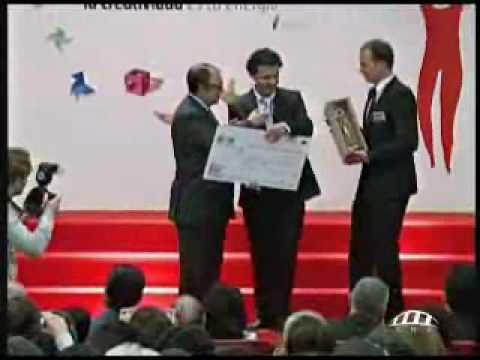 Reportaje sobre la entrega de Premios Día Persona Emprendedora CV 2010