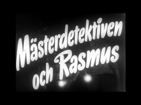 Mästerdetektiven och Rasmus (1953) - trailer till filmen (видео)