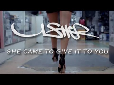 Usher ft Nicki Minaj - She Came to Give It to You Teaser - Released