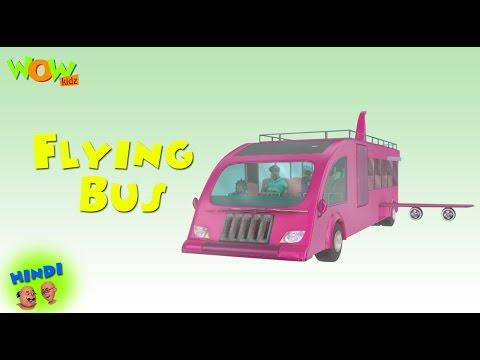 Motu Patlu Cartoons In Hindi | Animated cartoon | flying bus | Wow Kidz
