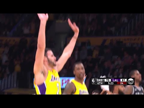 4th Quarter, One Box Video: Los Angeles Lakers vs. San Antonio Spurs
