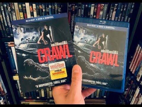Crawl BLU RAY REVIEW + Unboxing