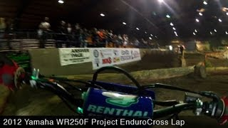 10. MotoUSA EnduroCross Lap Video:  2012 Yamaha WR250F Project Bike