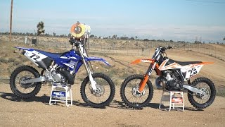 2. 2017 KTM 250 SX vs 2017 Yamaha YZ250 | Dirt Rider 250cc Shootout